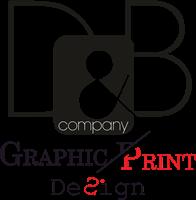 D&B graphic print