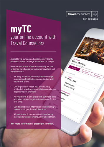 myTC Travel Counsellors for Business Travel