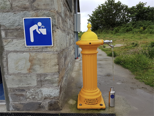 Refurbished Street Hydrant - check out our TAP MAP.