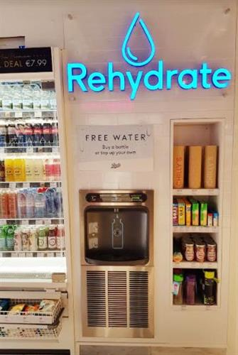 Refill.ie Hydration Hub - Indoor wall Dispenser