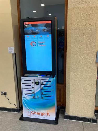 "UV 43"" Mobile Charging Station"