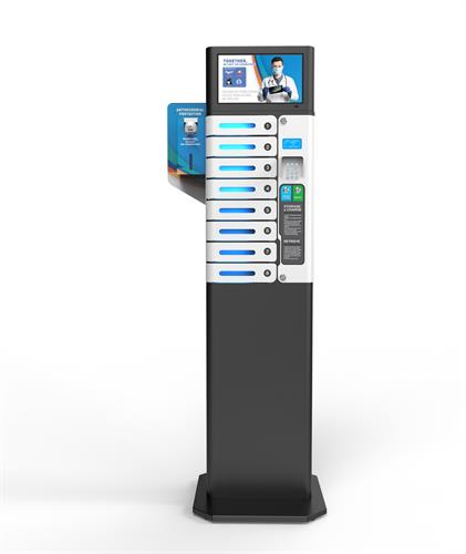 """UV 14"""" Mobile Charging Station with Stand"""