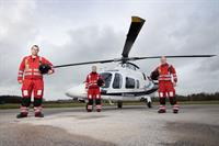 Charity Funded Community Air Ambulance Tasked 490 Times  During First Full Year