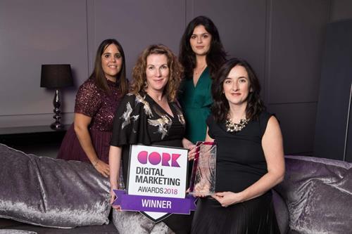 Winner Best Digital Campaign to Showcase Cork - Cork Digital Marketing Awards 2018