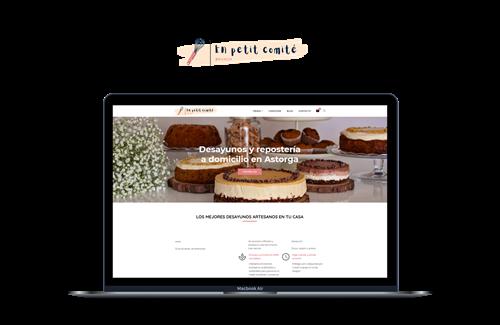 Portfolio - En Petit Comité e-commerce
