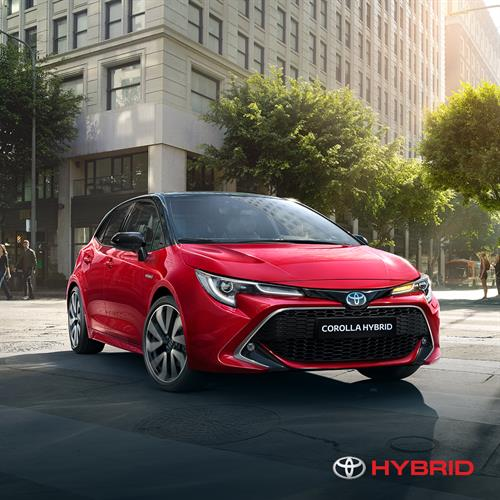 New Toyota Corolla Hybrid