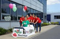 Going the Extra Mile! Software firm Red Hat backs the 'Make Your Mark on Cancer' charity walk in aid of the Mercy University Hospital Foundation on July 21st