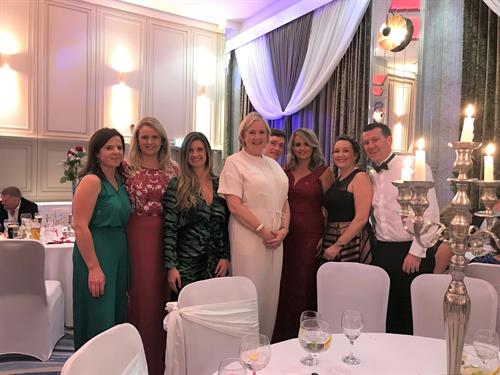 CKT attend the CUH Charity Ball 2019