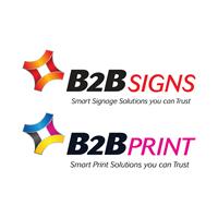 B2B Signs & B2B Print