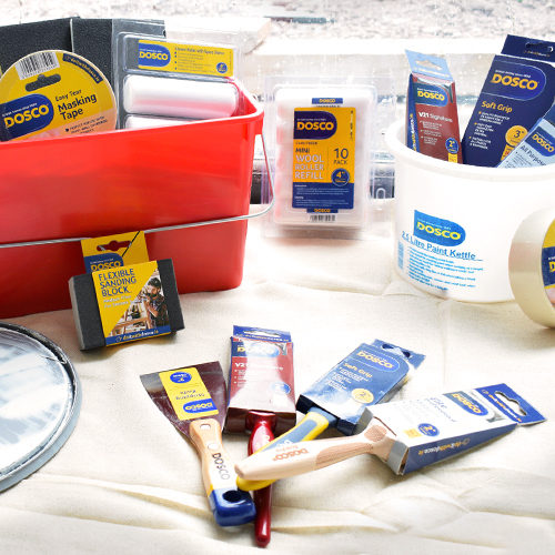 Our extensive range of paint accessories for the DIY enthusiast to the tradesman. No matter the job, we have you covered.