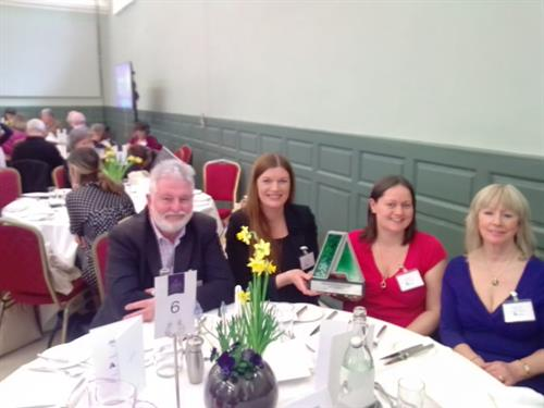 NLN Focus Recovery Programme won the Aontas Star Award for the Health and Wellbeing Category