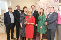 Carmel O'Keeffe founder of ''Dress for Success'' has been named Cork Person of the Month for May