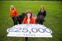 TELUS International Ireland raises €50,000 for two Irish charities
