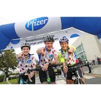 Cyclists saddle-up for Pfizer Ireland Charity Cycle