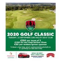 Cork City FC are delighted to announce details of the 2020 Golf Classic