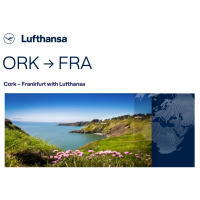 Lufthansa to Connect Cork to Frankfurt