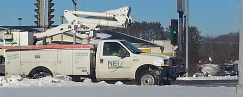 NEI Boom Truck