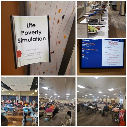 2019 Life Poverty Simulation at WITC