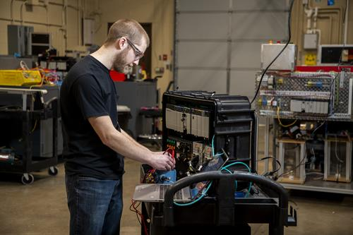 Automation for Industrial Systems Associate Degree-Unique in the state