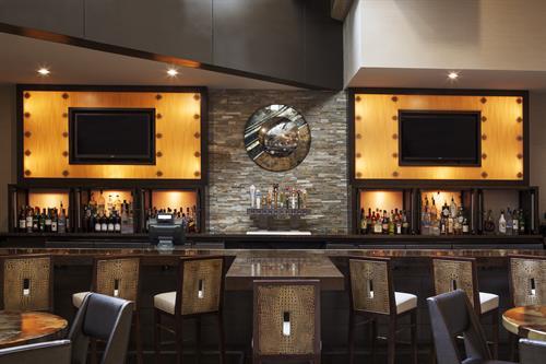 The bar at Prospect's Urban Kitchen & Bar