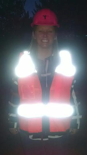 Livy, headed to 4am construction company enrollment on site! Whatever it takes!