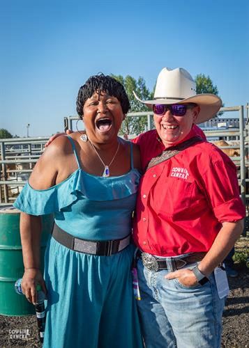 Hazel Miller's First Rodeo