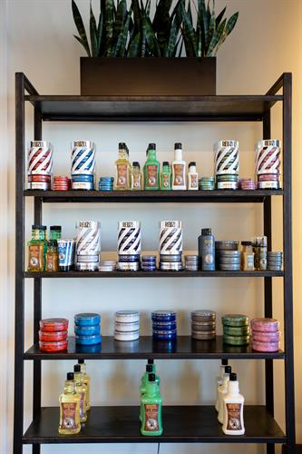 As Reuzel's first certified barbershop in the world we stock even unreleased Reuzel product