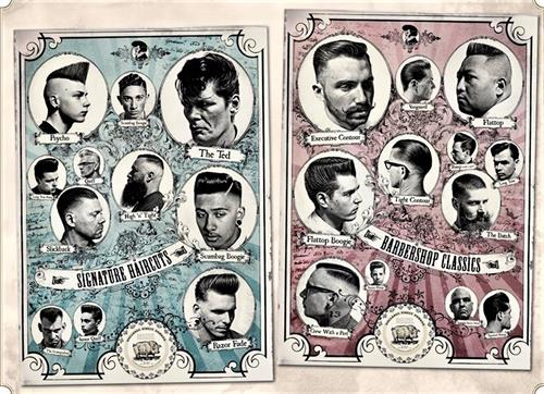 We send our newest barbers to Europe for advanced classic barber training