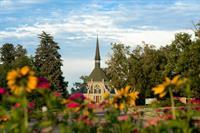 Ivy Chapel and Summer Flowers (historic landmark, 1890)