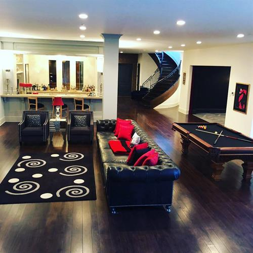 Buell Mansion Basement project