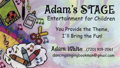 Adam's STAGE: Entertainment for Children