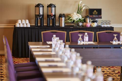 Millennium Ballroom - Morning Coffee Set Up