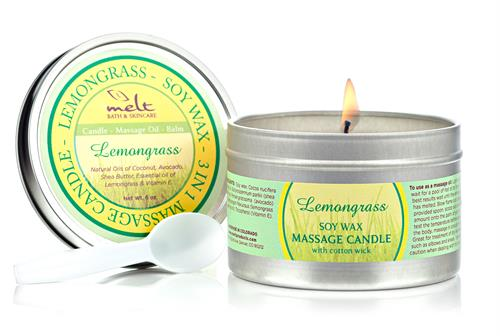 Lemongrass Massage Candle