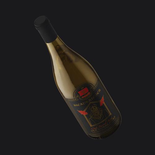 Wine bottle label for Loveland, Colorado meadery