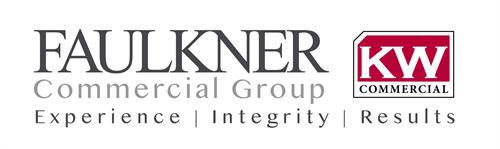 Jannet FAULKNER Commercial Real Estate logo design