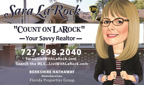 Sara LaRock, Real estate promotional material