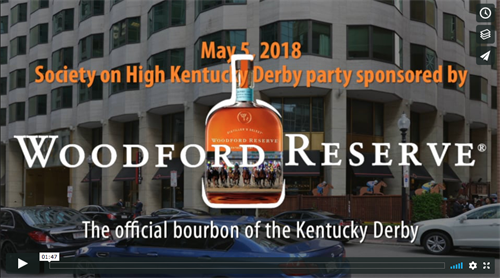 Woodford Reserve Kentucky Derby event 2018, Boston MA Video production