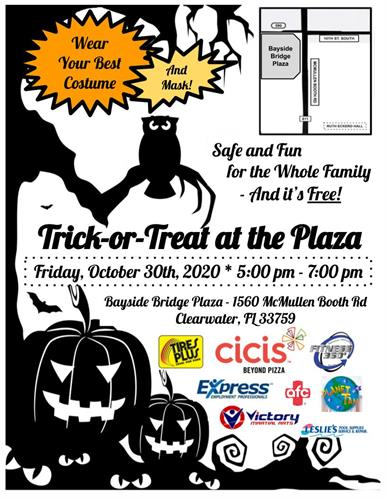 Bayside Bridge Plaza Trick-or-Treat Event 2020