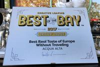 Acqua Alta-Best of the Bay Winner!