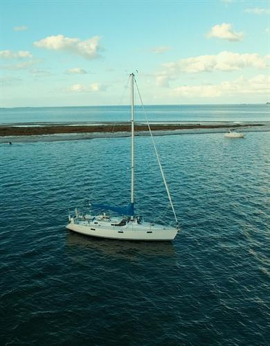 Drone view of Escapade