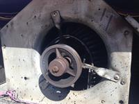 Blower Wheel Destroyed from lack of Maintenance