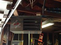 Garage Unit Heater Install