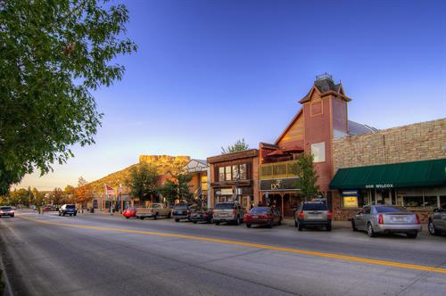 Wilcox Historic District in Downtown Castle Rock