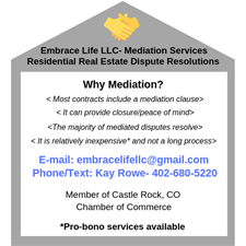 Embrace Life LLC- Mediation Services