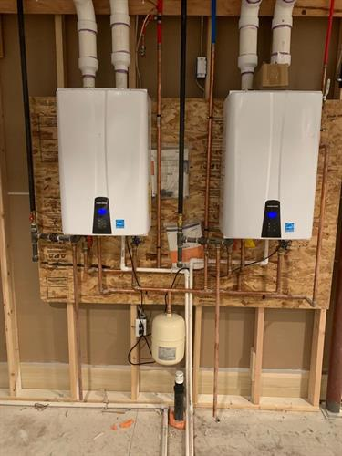 Dual Tankless Water Heater