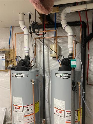 Dual Water Heaters