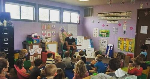 We visited a local preschool to speak to kids about the importance of great dental health! :)