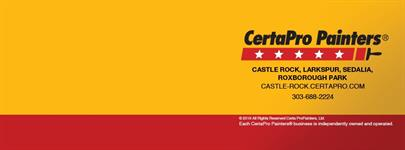 CertaPro Painters of Castle Rock