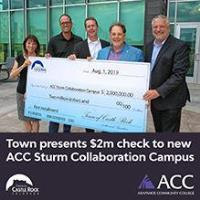 Town to contribute first $2M toward local higher ed at new Sturm Collaboration Campus