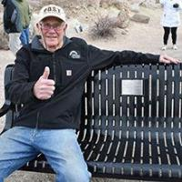 Town's No. 1 volunteer honored with bench dedication and Cornerstone Tribute award
